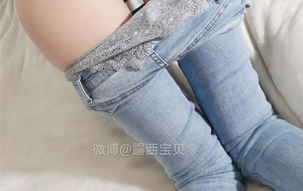 露西宝贝 – 破洞牛仔裤 [24P+1V/265.28M]