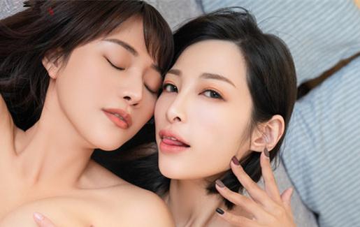台湾JVID-神级女神乐乐+曈曈 视频加写真【75P+1V/470MB】