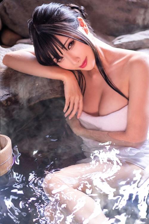 [Cosplay] Hane Ame – Secret hot spring trip [106P/372MB]