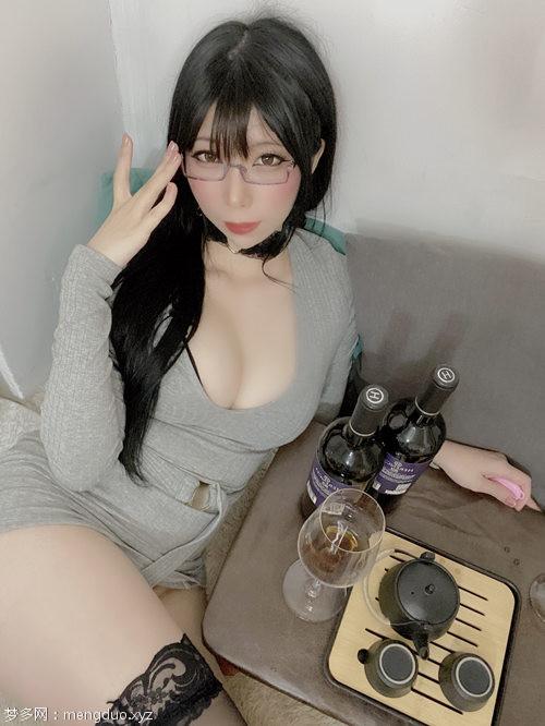 鹿野希 – 酒酔い先輩[123P+10V/248MB]