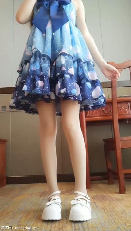 软萌萝莉小仙-蓝色洛丽塔[1V/1.41G]